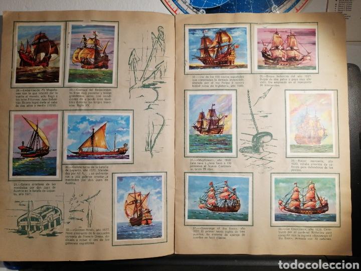 Coleccionismo Álbum: Àlbum de cromos completo EL NAVIO A TRAVES DEL TIEMPO - Foto 6 - 192462661