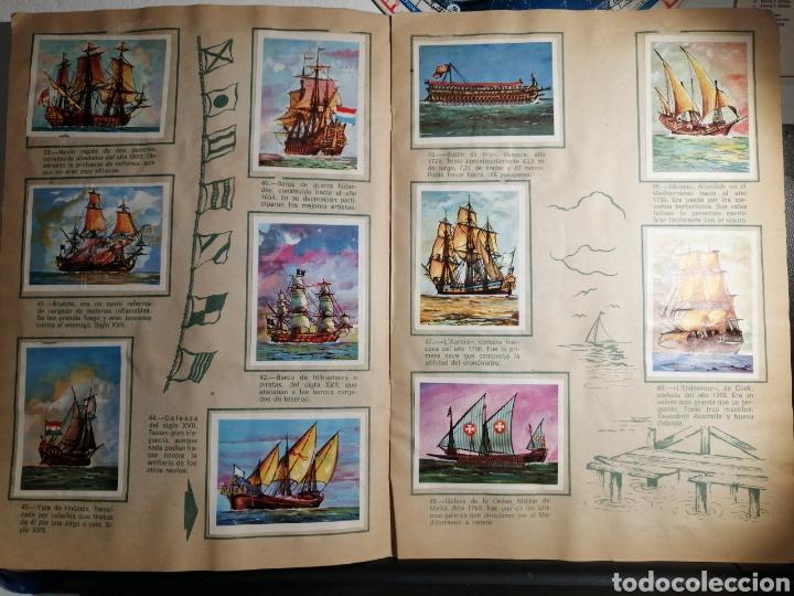 Coleccionismo Álbum: Àlbum de cromos completo EL NAVIO A TRAVES DEL TIEMPO - Foto 7 - 192462661