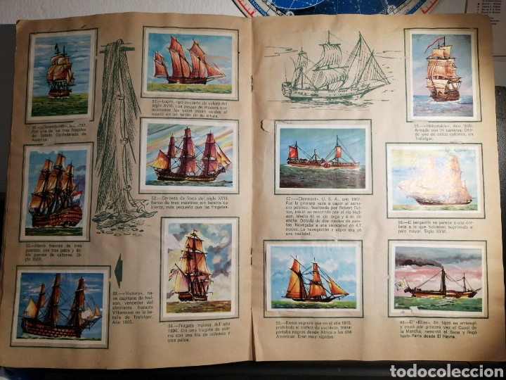 Coleccionismo Álbum: Àlbum de cromos completo EL NAVIO A TRAVES DEL TIEMPO - Foto 8 - 192462661