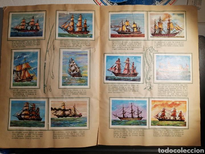 Coleccionismo Álbum: Àlbum de cromos completo EL NAVIO A TRAVES DEL TIEMPO - Foto 9 - 192462661
