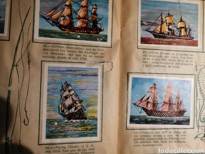 Coleccionismo Álbum: Àlbum de cromos completo EL NAVIO A TRAVES DEL TIEMPO - Foto 10 - 192462661