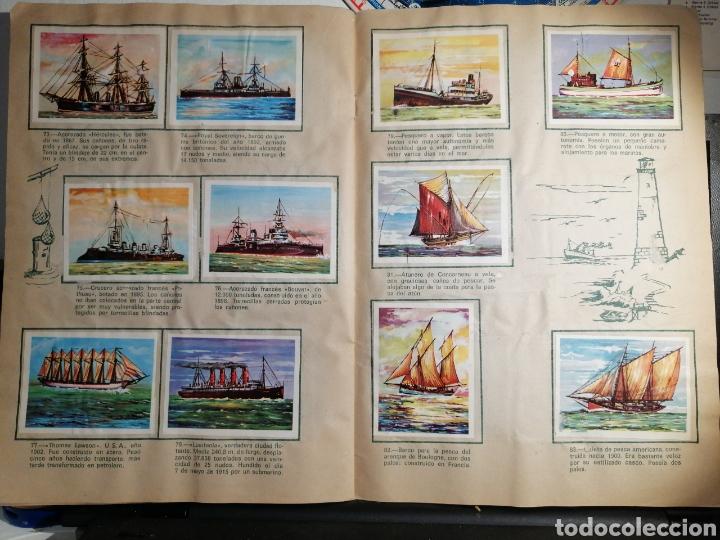 Coleccionismo Álbum: Àlbum de cromos completo EL NAVIO A TRAVES DEL TIEMPO - Foto 11 - 192462661