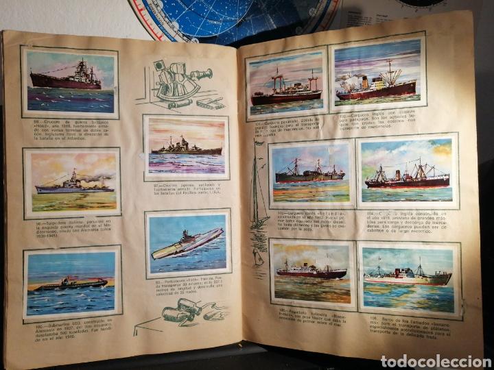 Coleccionismo Álbum: Àlbum de cromos completo EL NAVIO A TRAVES DEL TIEMPO - Foto 13 - 192462661