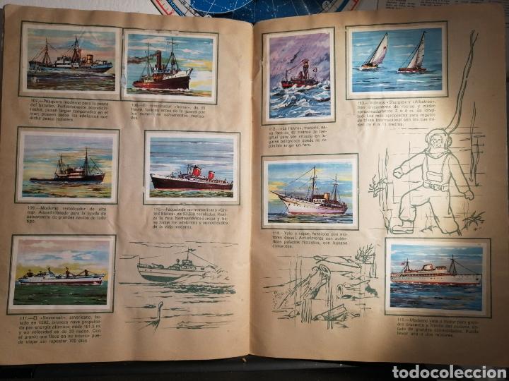 Coleccionismo Álbum: Àlbum de cromos completo EL NAVIO A TRAVES DEL TIEMPO - Foto 14 - 192462661