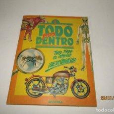 Coleccionismo Álbum: ANTIGUO ÁLBUM COMPLETO *TODO POR DENTRO* DE EDITORIAL BRUGUERA DEL AÑO 1980. Lote 192483451