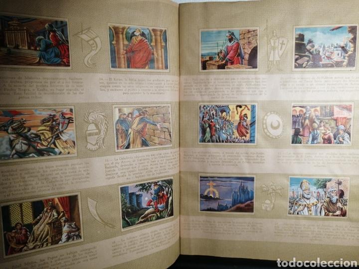 Coleccionismo Álbum: Album de cromos Completo y Album cromos desplegable LAS CRUZADAS . RUIZ ROMERO - Foto 4 - 192503717