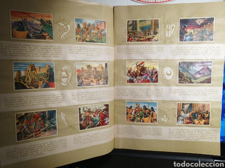 Coleccionismo Álbum: Album de cromos Completo y Album cromos desplegable LAS CRUZADAS . RUIZ ROMERO - Foto 5 - 192503717