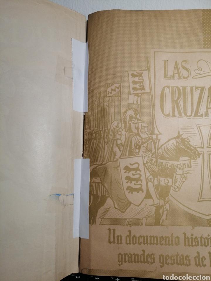 Coleccionismo Álbum: Album de cromos Completo y Album cromos desplegable LAS CRUZADAS . RUIZ ROMERO - Foto 7 - 192503717