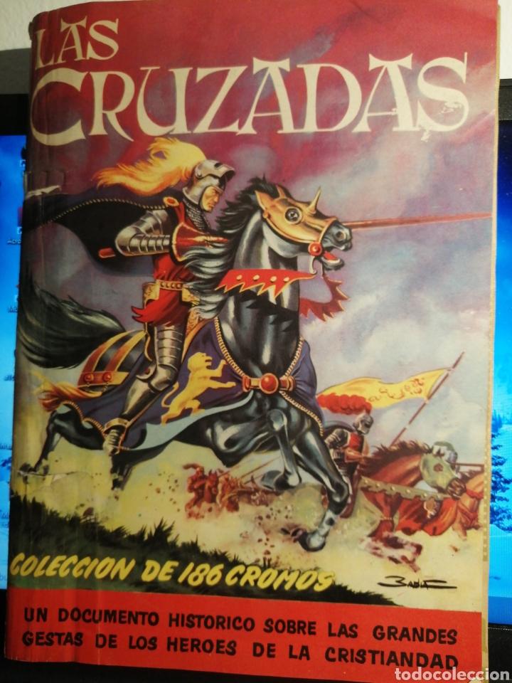 Coleccionismo Álbum: Album de cromos Completo y Album cromos desplegable LAS CRUZADAS . RUIZ ROMERO - Foto 3 - 192503717