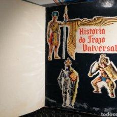 Coleccionismo Álbum: LUJOSO ALBUM DE CROMOS COMPLETO HISTORIA DO TRAJO UNIVERSAL ENCUADERNADO. Lote 192733115