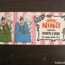 Coleccionismo Álbum: CHICLES FLEER NINA-LA MODA DESDE EVA-ALBUM COMPLETO-VER FOTOS-(V-18.843). Lote 192820328