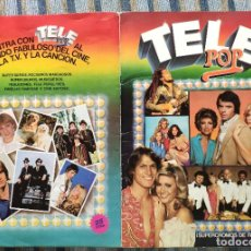 Collectionnisme Album: ALBUM DE CROMOS TELE POP (COMPLETO) (EDICIONES ESTE 1980). Lote 192826262