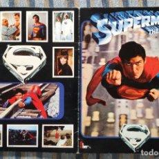 Collectionnisme Album: ALBUM DE CROMOS SUPERMAN THE MOVIE (COMPLETO) (FHER 1979). Lote 192830477