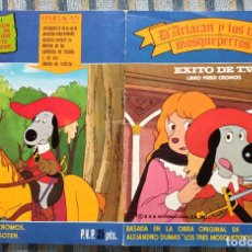 Collectionnisme Album: ALBUM DE CROMOS DARTACAN Y LOS TRES MOSQUEPERROS (COMPLETO) (LISEL 1981). Lote 192834195