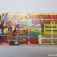 Coleccionismo Álbum: ALBUM COMPLETO SOLO FALTA 1 CRUCIGRAMA INFANTIL DE PIPAS TOSTAVAL. Lote 193268128
