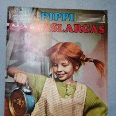 Coleccionismo Álbum: ALBUN DE CROMOS DE PIPI CALZASLARGAS COMPLETO,AÑOS 80.. Lote 193291551