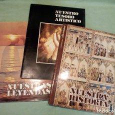 Collectionnisme Album: 3 ALBUMES COMPLETOS, COLECCIONABLES.. Lote 193582336