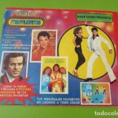 Coleccionismo Álbum: ÁLBUM MIS FAVORITOS ESPECIAL DE JOHN TRAVOLTA . Lote 193663243