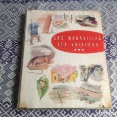 Coleccionismo Álbum: LAS MARAVILLAS DEL UNIVERSO COMPLETO NETSLE . Lote 193825826