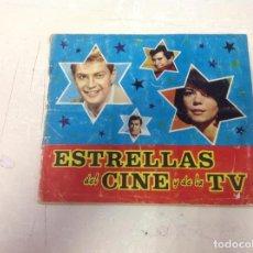 Collectionnisme Album: ALBUM ESTRELLAS DEL CINE Y DE LA TV, COMPLETO. Lote 193882647