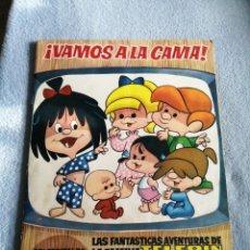 Coleccionismo Álbum: VAMOS ALA CAMA DE LA FAMILIA TELERÍN. Lote 193937785