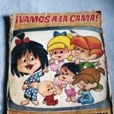 Coleccionismo Álbum: VAMOS ALA CAMA DE LA FAMILIA TELERÍN. Lote 193938112