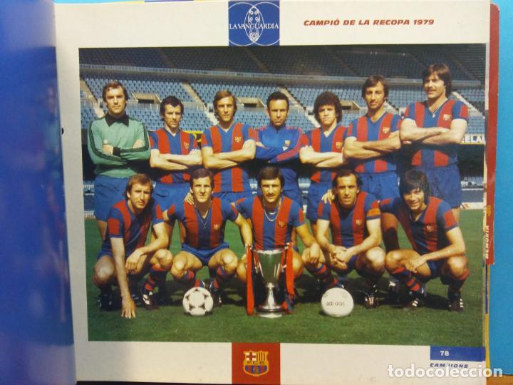 Coleccionismo Álbum: EL GRAN ALBUM DEL BARÇA. CENT ANYS EN BLAU I GRANA. FCB. LA VANGUARDIA. VER FOTOS - Foto 4 - 194011241