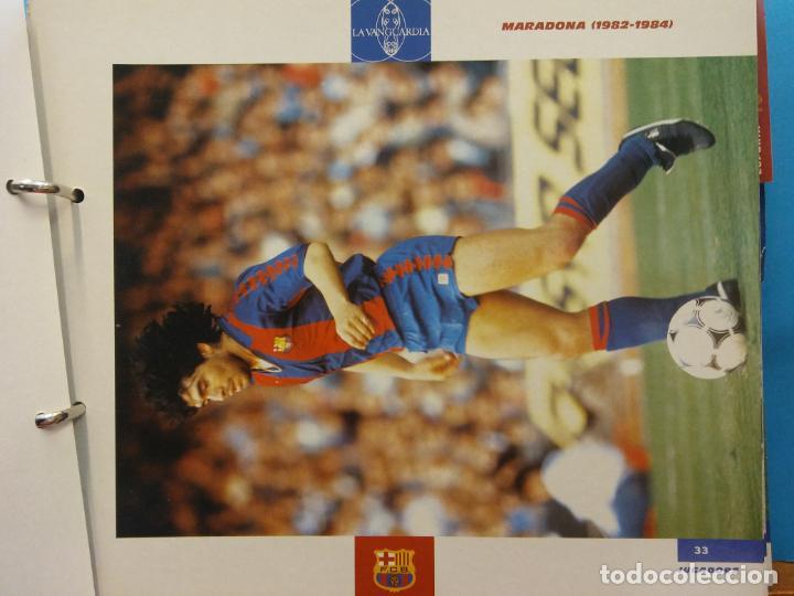 Coleccionismo Álbum: EL GRAN ALBUM DEL BARÇA. CENT ANYS EN BLAU I GRANA. FCB. LA VANGUARDIA. VER FOTOS - Foto 7 - 194011241