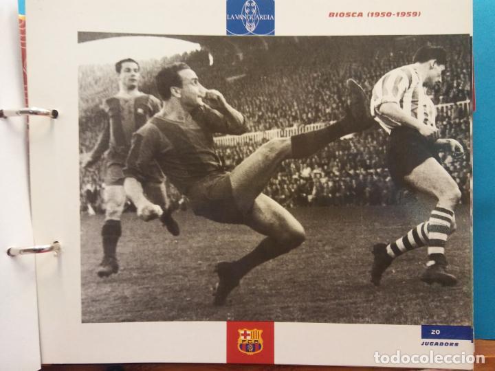 Coleccionismo Álbum: EL GRAN ALBUM DEL BARÇA. CENT ANYS EN BLAU I GRANA. FCB. LA VANGUARDIA. VER FOTOS - Foto 8 - 194011241