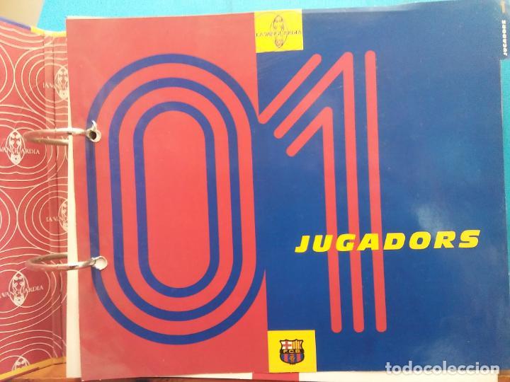Coleccionismo Álbum: EL GRAN ALBUM DEL BARÇA. CENT ANYS EN BLAU I GRANA. FCB. LA VANGUARDIA. VER FOTOS - Foto 9 - 194011241