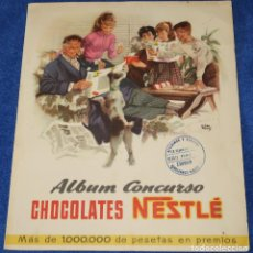 Collectionnisme Album: ALBUM CONCURSO CHOCOLATES NESTLÉ ¡COMPLETO!. Lote 194079362