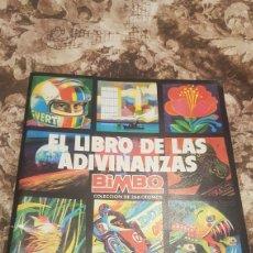 Coleccionismo Álbum: ALBUM EL LIBRO DE LAS ADIVINANZAS. Lote 194086725