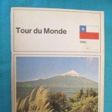 Coleccionismo Álbum: TOUR DU MONDE CHILE . Lote 194186177