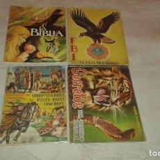 Coleccionismo Álbum: COLECCIONISTAS : LOTE 4 ÁLBUMES COMPLETOS AÑOS 50. Lote 194202628