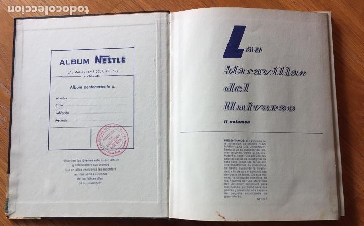 Coleccionismo Álbum: ALBUM LAS MARAVILLAS DEL UNIVERSO 2, NESTLE Completo - Foto 9 - 194206642