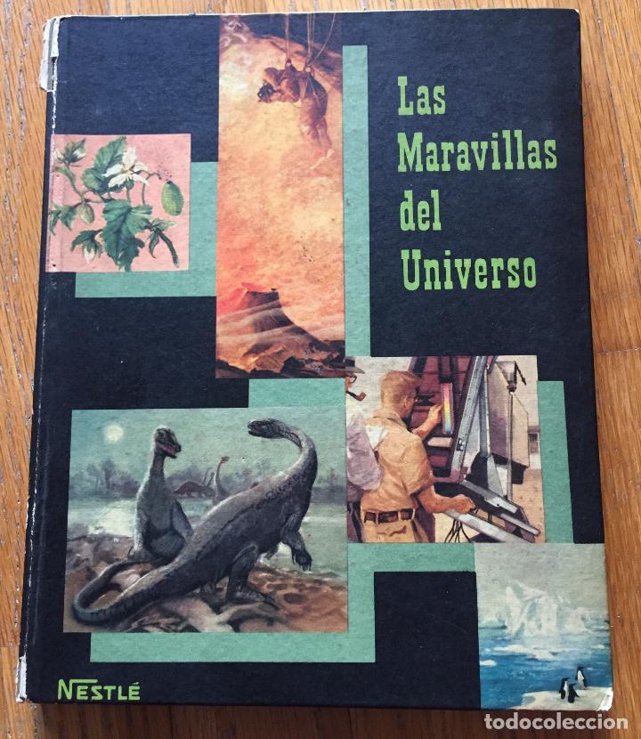 ALBUM LAS MARAVILLAS DEL UNIVERSO 2, NESTLE COMPLETO (Coleccionismo - Cromos y Álbumes - Álbumes Completos)