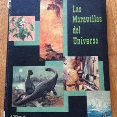 Coleccionismo Álbum: ALBUM LAS MARAVILLAS DEL UNIVERSO 2, NESTLE COMPLETO. Lote 194206642