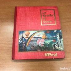 Coleccionismo Álbum: ALBUM NESTLÉ - LAS MARAVILLAS DEL UNIVERSO COMPLETO 1955. Lote 194212477
