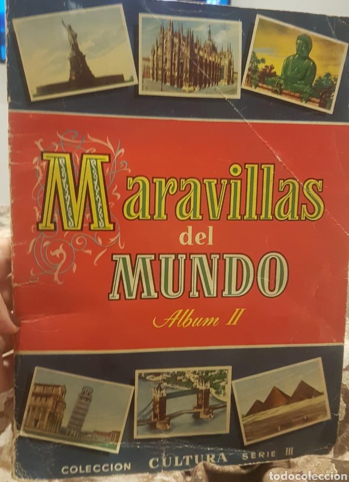 ALBUM MARAVILLAS DEL MUNDO COMPLETO (Coleccionismo - Cromos y Álbumes - Álbumes Completos)