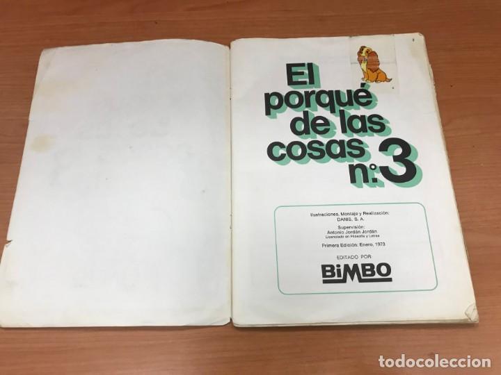 Coleccionismo Álbum: EL PORQUE DE LAS COSAS N3 ALBUM BIMBO - Foto 2 - 194215596