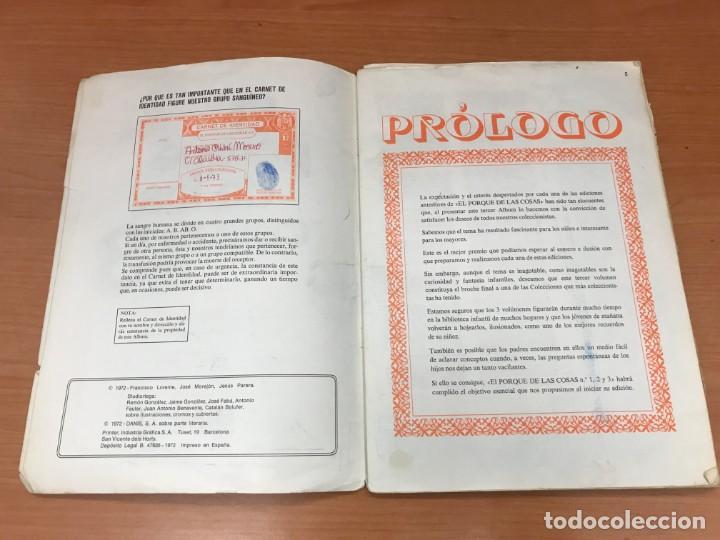 Coleccionismo Álbum: EL PORQUE DE LAS COSAS N3 ALBUM BIMBO - Foto 3 - 194215596