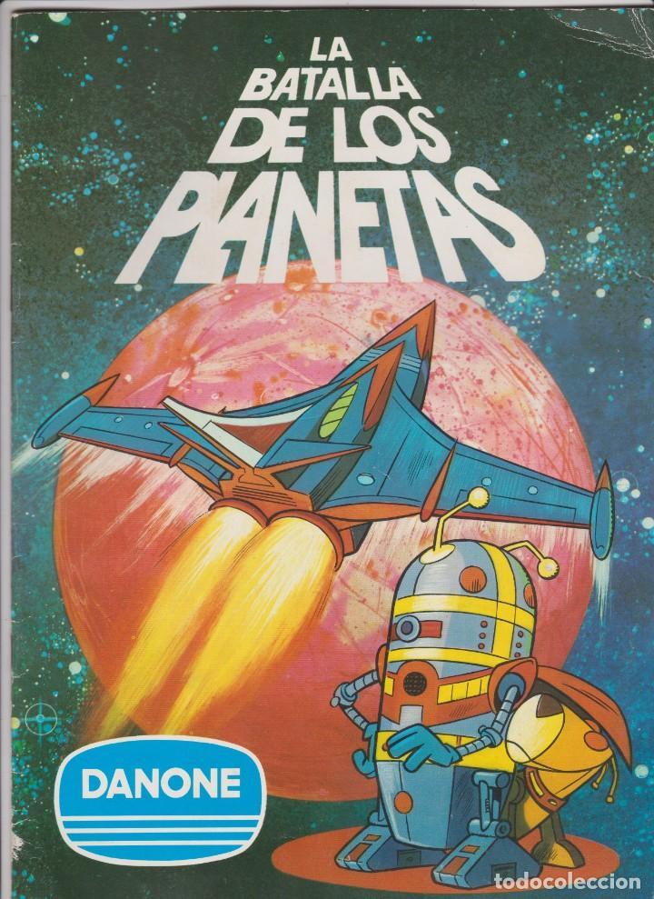 DANONE -- LA BATALLA DE LOS PLANETAS (Coleccionismo - Cromos y Álbumes - Álbumes Completos)