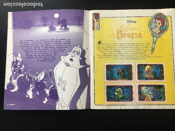 Coleccionismo Álbum: LA BELLA Y LA BESTIA DISNEY PANINI - ALBUM DE CROMOS COMPLETO BUEN ESTADO - Foto 2 - 194223228