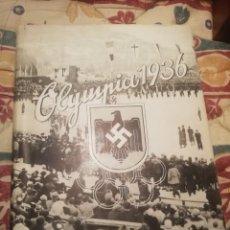 Coleccionismo Álbum: ALBUM OLIMPIA 1936 ALEMÁN OLIMPIADA. Lote 194287260