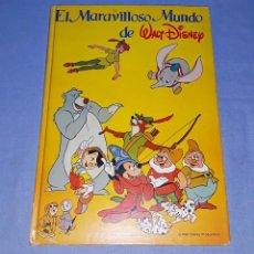 Coleccionismo Álbum: ALBUM DE CROMOS COMPLETO EL MARAVILLOSO MUNDO DE WALT DISNEY ORIGINAL AÑO 1985. Lote 194337441