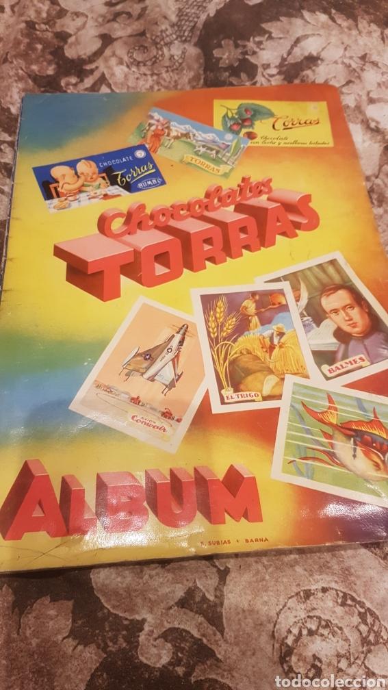 ALBUM COMPLETO CHOCOLATES TORRAS AÑOS 50 (Coleccionismo - Cromos y Álbumes - Álbumes Completos)