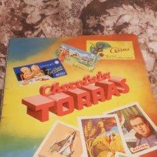 Coleccionismo Álbum: ALBUM COMPLETO CHOCOLATES TORRAS AÑOS 50. Lote 194351981