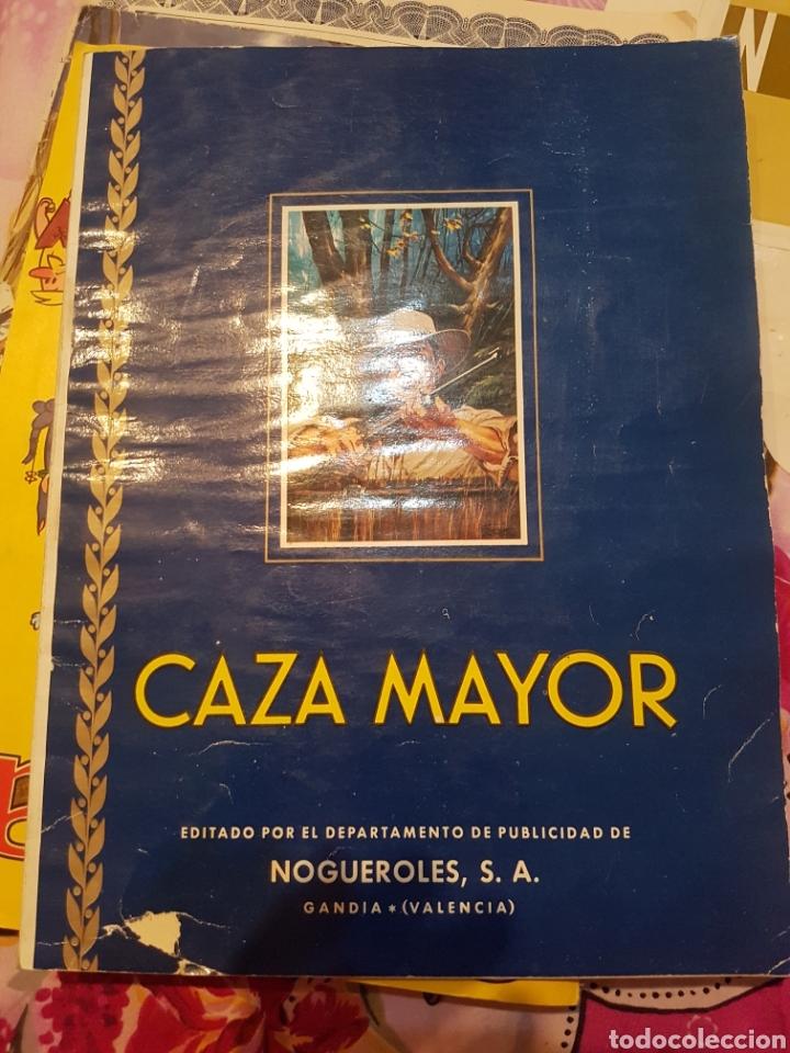 ALBUM CAZA MAYOR (Coleccionismo - Cromos y Álbumes - Álbumes Completos)
