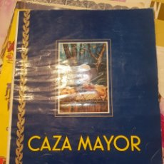 Coleccionismo Álbum: ALBUM CAZA MAYOR. Lote 194354576
