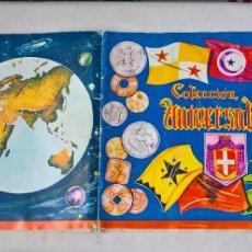 Coleccionismo Álbum: COLECCION UNIVERSAL LIBRO DE BANDERAS, ESCUDOS, MONEDAS Y MAPAS . COMPLETO. Lote 194356251